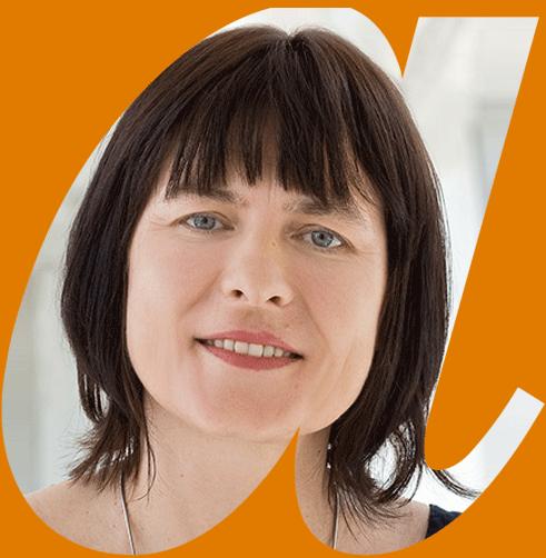 Portrait Anke Rinne in avendi-a-Schablone
