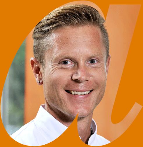 Portrait Björn Stoll in avendi-a-Schablone