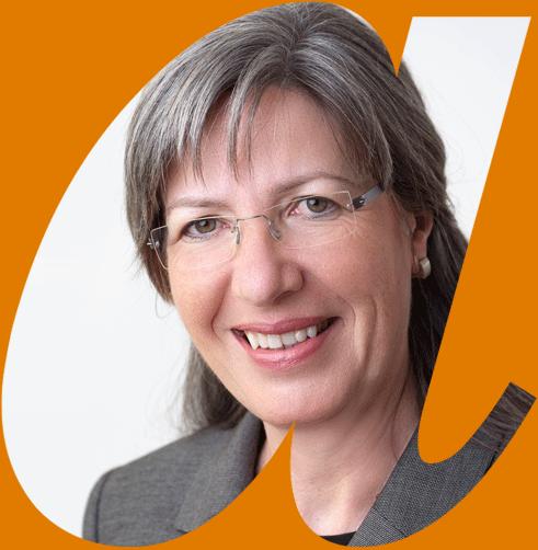Portrait Christiane Schneider in avendi-a-Schablone