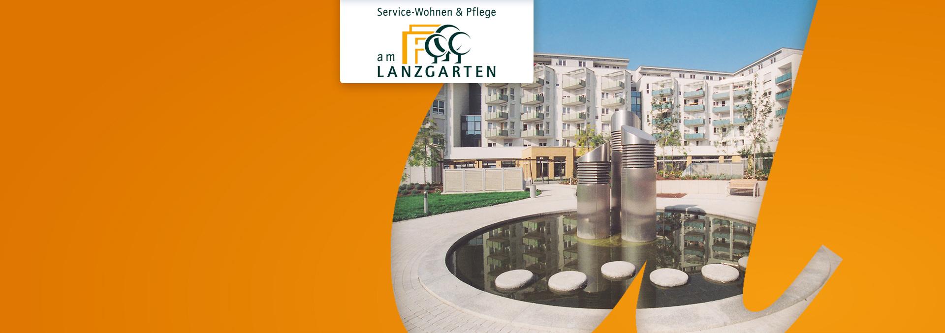 Brunnen bei Service-Wohnen und Pflege LANZGARTEN